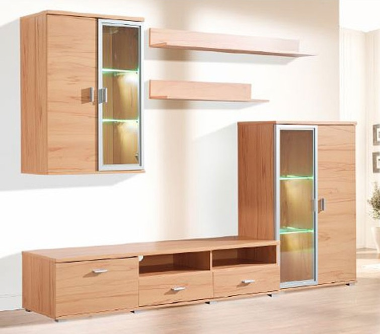 wohnwand schrank angebote auf waterige. Black Bedroom Furniture Sets. Home Design Ideas