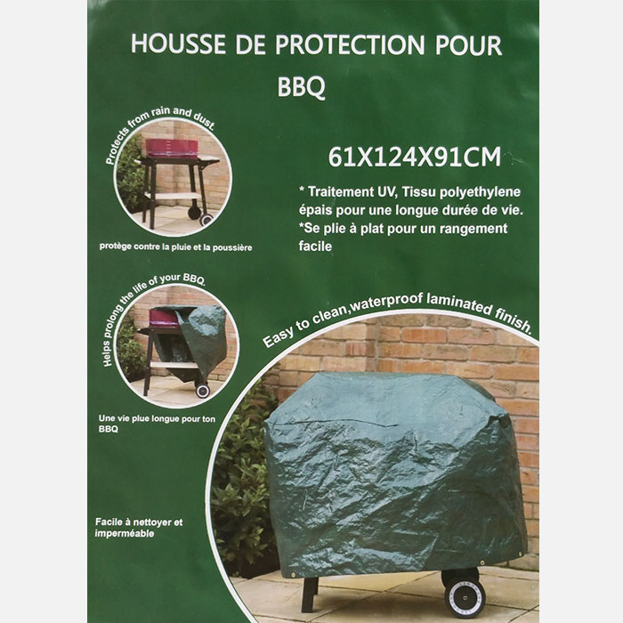 schutzh lle f r grill garten h lle abdeckung haube gr n. Black Bedroom Furniture Sets. Home Design Ideas