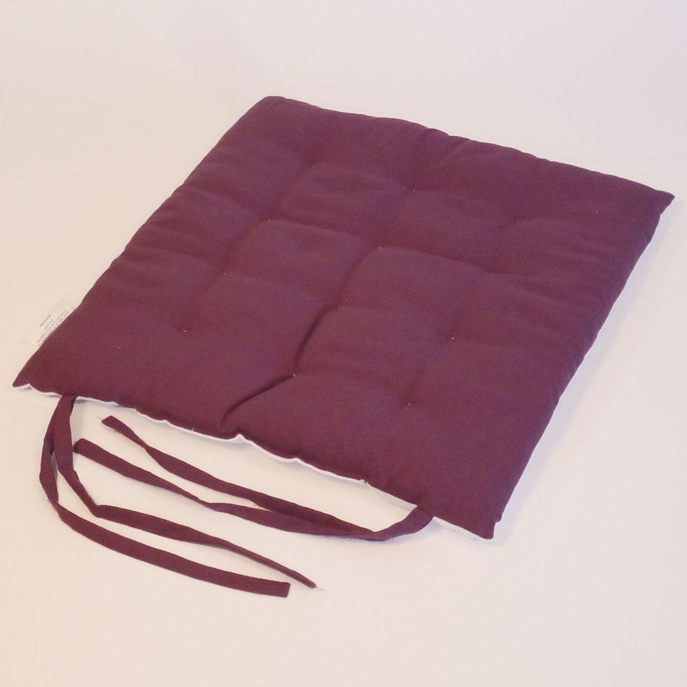 sitzkissen 40x40 cm stuhlkissen dekokissen garten wohnung auflage 100 baumwolle ebay. Black Bedroom Furniture Sets. Home Design Ideas