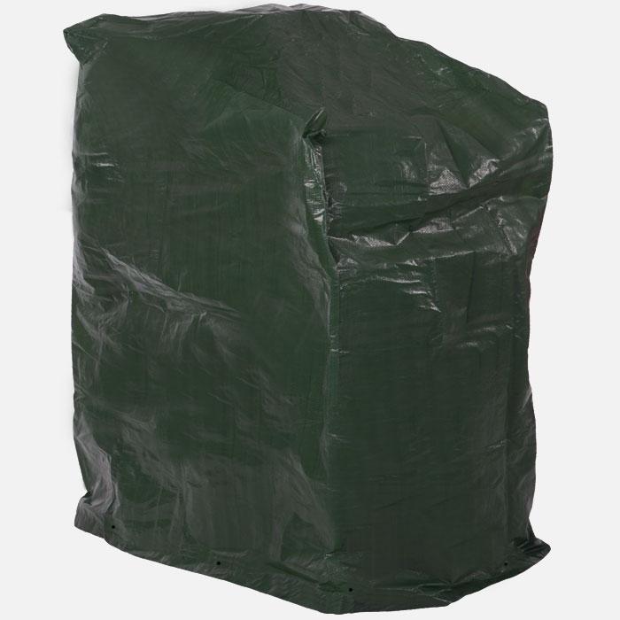 schutzh lle f r stuhl st hle h lle abdeckung haube dunkelgr n 68x61x107cm ebay. Black Bedroom Furniture Sets. Home Design Ideas